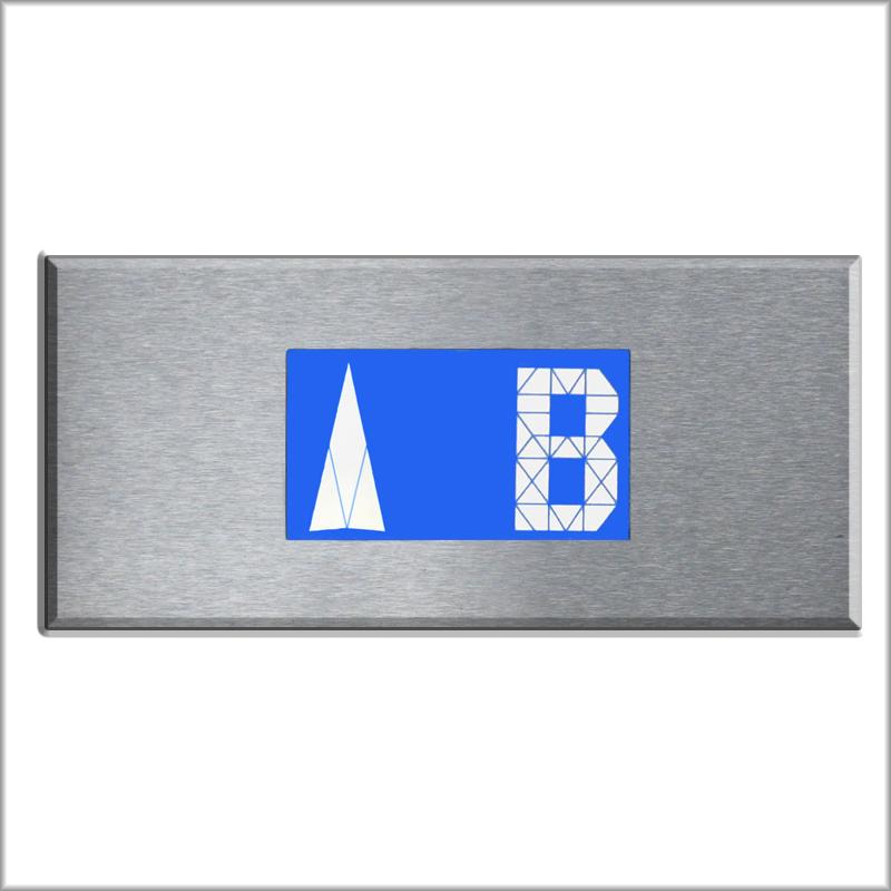 LCDHOR lcd azul horizontal