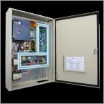 Armario EM4000 con cuarto de máquinas VVVF